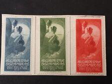 ERINNOFILO  LOTTO DI 3 ESPOSIZIONE DI MILANO 1906