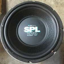 "New Old School Soundstream SPL170 15"" Competition subwoofer,Rare,NIB,USA"