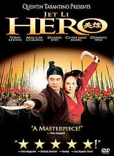New Hero DVD 2004 Jet Li Zhang Yimou director Chinese epics RED SORGHUM RAISE