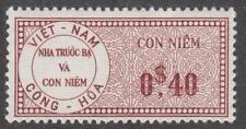 Viet Nam Revenue Barefoot #47a mint 40c violet brown 1960 cv $6