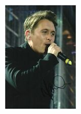 MARK OWEN AUTOGRAPHED SIGNED A4 PP POSTER PHOTO