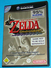 The Legend of Zelda - The Windwaker - GameCube GC Nintendo - PAL DE