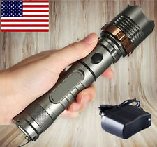 2000LM Rechargeable Lotus T6 LED Flashlight Tactical Cree XML + Battery+Charger