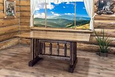 Farmhouse Trestle Tables 6 Ft Amish Made Kitchen Dining Furniture