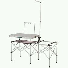 Coleman Camping Kitchen, Folding Outdoor Portable Table Pack Away Aluminium