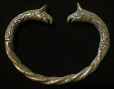 VIKING Ancient Artifact  SILVER GRIFFIN BRACELET Circa 700-800 AD