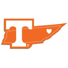 Tennessee Volunteers Home State Vinyl Auto Decal NCAA Licensed Football USA Made