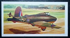 Gloster Whittle E28/39 Jet Aeroplane       Illustrated  Card # VGC