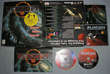 Redshift 3/Planetary Missions PC Computer CD Video Game 2 for 1 Pack in Box RARE
