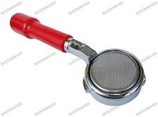 Red Bottomless Naked Portafilter Handle Holder Gaggia Coffee Machine Classic