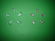 1/4 6,35 Mm 6.35 90 Grados derecho Bandera Lucar Conector hembra Spade terminales cubre X 5