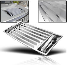 2003-2009 HUMMER H2 CHROME TRIM HOOD DECK VENT PANEL HANDLE COVERS MOULDING 5PCS