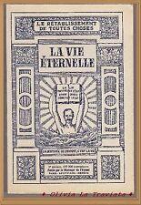 La vie éternelle Le tabernacle au milieu des hommes RELIGION TEMOINS JEHOVAH
