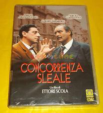 CONCORRENZA SLEALE (Abatantuono Depardieu Castellito) di E Scola - Dvd ○○○ NUOVO