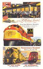 Railroad Theme Billboard Signs GREAT FOR TRAIN LAYOUTS SLOT CAR TRACKS DIORAMA'S