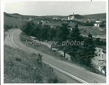 Beautiful Scenery Along Trans-Canada Highway Original News Service Photo