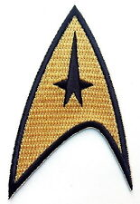 Velcro patch Original Gold Star Trek Command insignia Cosplay Hat
