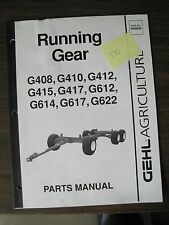 Gehl Parts Manual for Running Gear