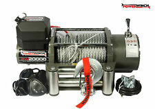 ELECTRIC WINCH 24V PW20000 lbs POWERWINCH ++++ WIRELESS REMOTE FOR FREE