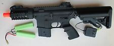 Full Metal Body & Gear CQC-RAS Stubby Elite Electric Airsoft Gun Shoot 400 FPS
