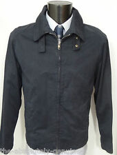 AQUASCUTUM Navy Blue HARRINGTON Bomber Jacket sz XL BNWT