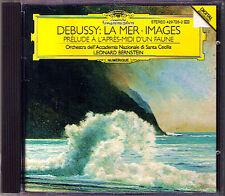 Leonard BERNSTEIN: DEBUSSY La Mer Images Prélude à l'après-midi d'un faune CD DG