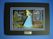 Sleeping Beauty Acme Character Key Cel and Jumbo Disney Pin LE 250 Aurora