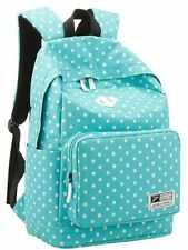 Blue Casual Daypack Backpack for College Bookbag Women Girls School Bags US