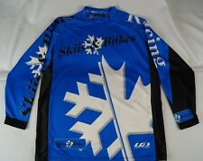 LOUIS GARNEAU Biking Skiing long sleeve shirt JR-Med Blue Cycling Racing