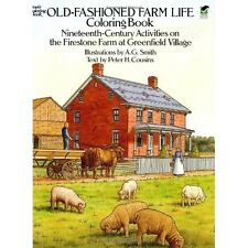 Coloring Book for Adults Аmazing Farm Life Designs Relaxing Therapy Anti Stress