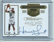 2015-16 Flawless Bkb #TR-HG2 Horace Grant Orlando Magic AUTOGRAPH GOLD #06/25!!