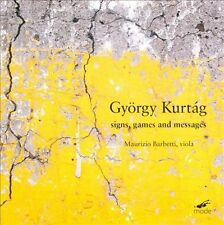 """Gy""""rgy Kurtg: Signs, Games and Messages (CD, Mar-2011, La Mode)"""
