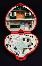 Polly Pocket Mini �� 1989 - Polly Pocket Christmas Compact Play Set Herz (1)
