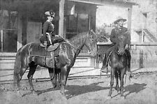 Female Outlaw Belle Starr Fort Smith Arkansas 1886 USA Reprint 7x5 Inch Photo