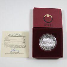 Österreich 10 Euro 2003 Silber PP Schloss Hof - OS (lesen)