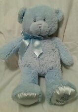 Gund Baby My First Teddy Blue Soft Stuff Plush Teddy Bear Animal Large 20""