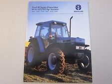 1995 Ford Tractor Brochure New Holland PowerStar 5640 6640 7740 7840 8240 8340