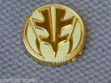 Flawed Ranger Tiger Power Coin V4 Cosplay Prop Metal Gold 1991-92 Morpher Toy