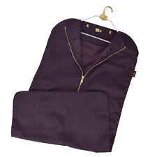 Authentic LOUIS VUITTON Garment Cover Hand Bag Nylon Brown Hanger 08M206