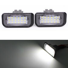Car LED Number License Plate Light for Mercedes Benz W203 4D C-Class AMG 01-07
