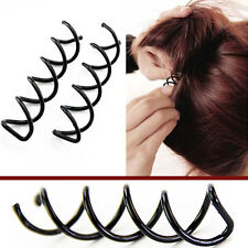 Chic 4PCS/SET Spiral Spin Screw Pin Hair Clip Twist Hair Salon Modelling