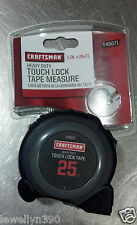 "CRAFTSMAN  1"" x 25' Touch Lock Tape Measure 9-45071  NEW!!! Sears"