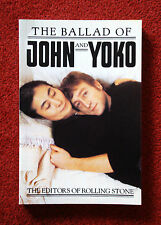 The Ballad of John and Yoko, 1982 John Lennon book produced by Rolling Stone