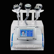 USA 5 in 1 Cavitation Vacuum Bipolar RF Laser Slim Fat Loss Facial Beauty Shape