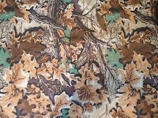 Pro Tuff Waterproof Camouflage Oak Leaf Canvas Fabric by the Yard - CAMO821