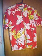 Presence Clothing Co. Short Sleeve Button Front Hawaiian Designed Shirt-Size L