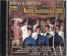 Boleros & Rancheras Al Mejor Estilo Del Nuevo Guadalajara 2000 Latin Music CD