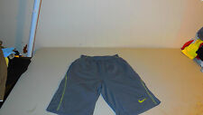 Nike Sparq Athletic Shorts Exercise Team Sports Casual Grey Mens Small