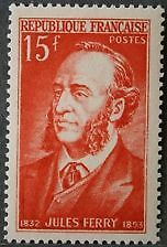 FRANCE  TIMBRE NEUF N° 880 **  JULES FERRY