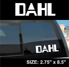 "Borderlands 2 / Pre-Sequel ""Dahl"" Gun Manufacturer Sticker Decal"